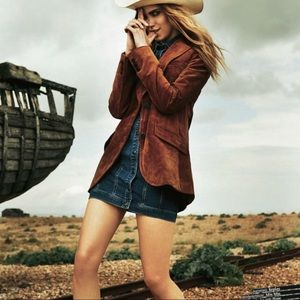 Cyrillus Vintage Women's Leather Jacket.